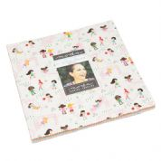 "Best Friends Forever  - Layer Cake by Stacy Iest Hsu for Moda Fabrics - 42 x 10"" Fabric Squares"